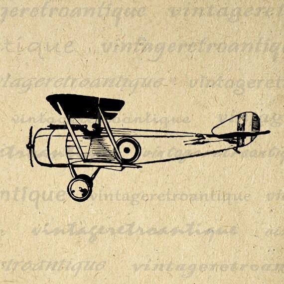 vintage airplane clipart - photo #22