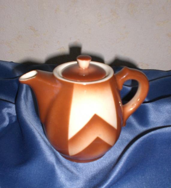 Bunzlau Small Art Deco Coffee Pot
