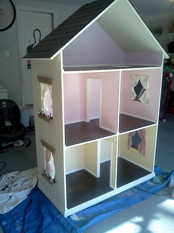 The Alyssa - Handmade Doll House for 18 Inch Dolls (American Girl Dolls)