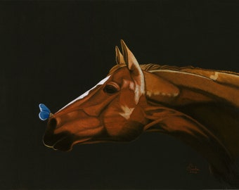 Horse and a Butterfly