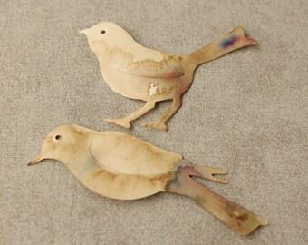 Sizzix diecut birds