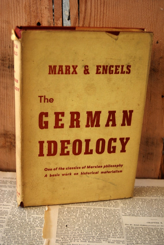 the german ideology German ideology : from france to germany and back by louis dumont and a great selection of similar used, new and collectible books available now at abebookscom.