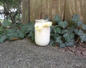 All Natural Lemon Scented Soy Candles