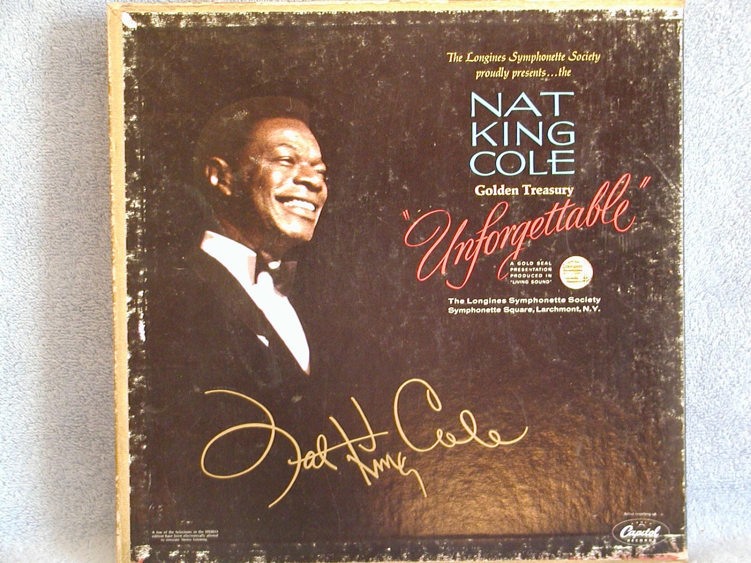 Nat King Cole Golden Treasury Unforgettable