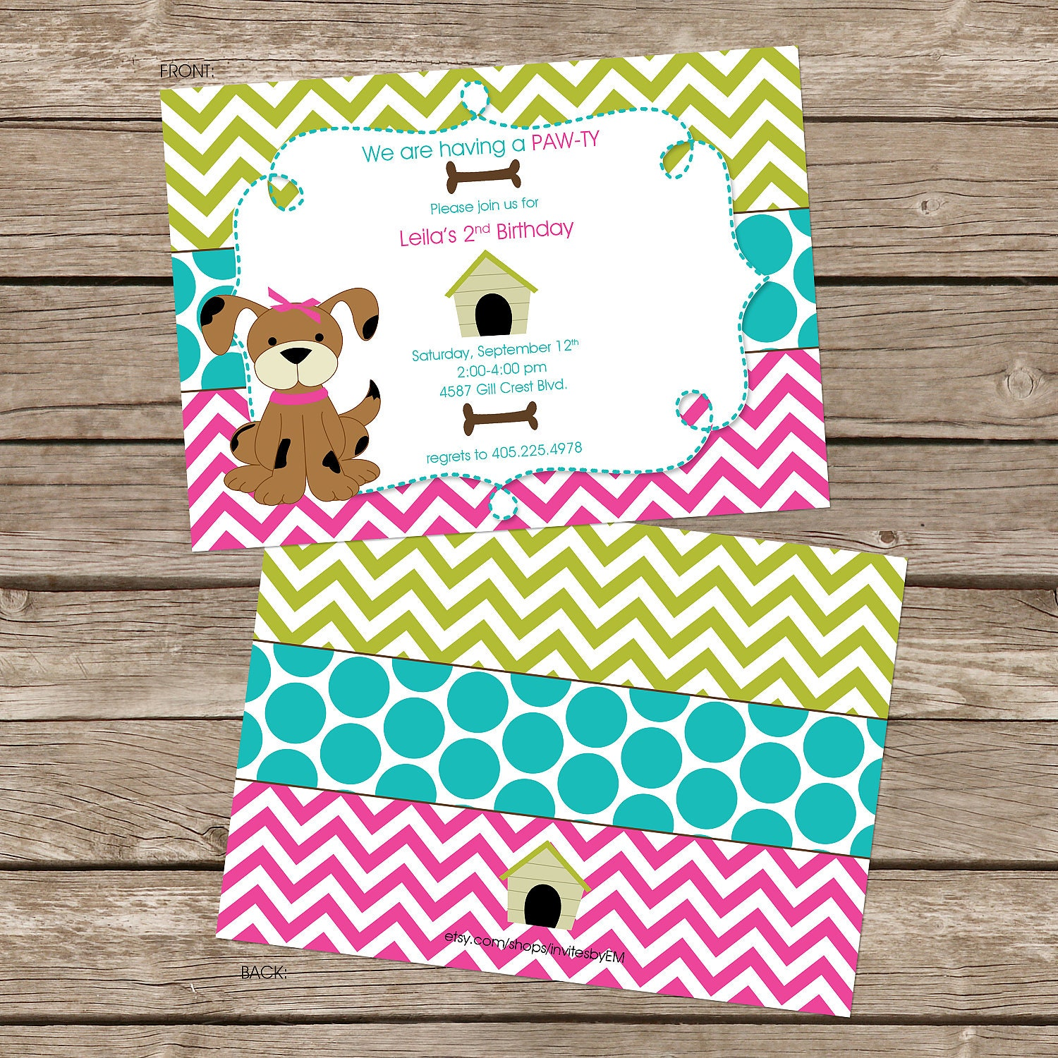 puppy themed birthday party invitations pictures to pin on, invitation samples