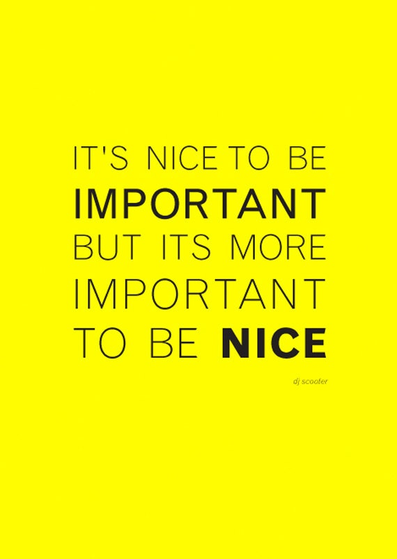 its nice to be - photo #17