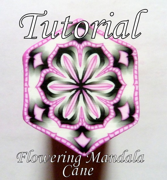 TUTORIAL - The Flowering Mandala Cane