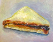 Peanut Butter Jelly Sandwich Painting
