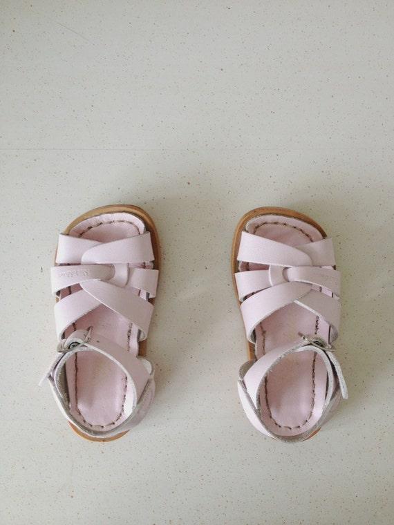 Children's Pink Saltwater Sandals