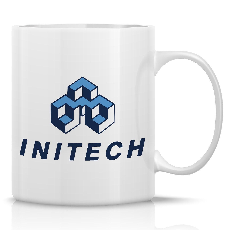 Initech Coffee Mug 11oz Porcelain Mug For Office By