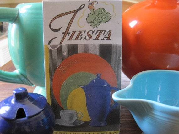 Vintage Fiestaware Prices 58
