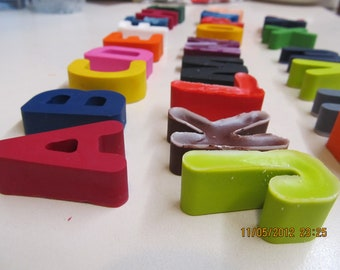 Alphabet crayons set of 26 - party favors - gift