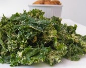 Hummus Kale Chips (Organic, Raw, Vegan)
