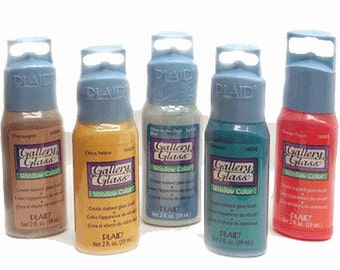 Clearance, Gallery Glass Window Colour Paint -choose your colour