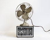 Vintage Metal Desk Fan from Bersted Mfg. Co. Model No. 1000J