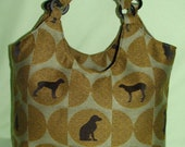 Dog Silhouette Bag for your Favorite Dog lover.
