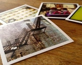 100 perfect little 3x3 inch prints of your own Instagram photos