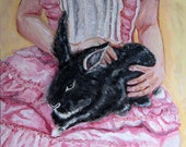 Les Barricades Mysterious Limited Edition Archival Print of Original Painting by Kim Annabella