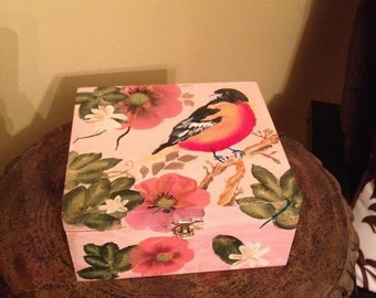 Flower Bird Box