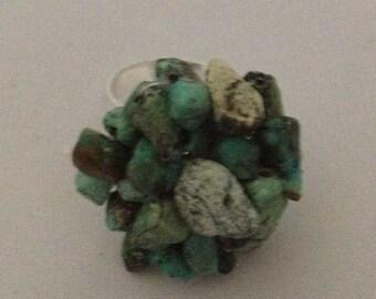 Turquoise Ring - Genuine Gemstone