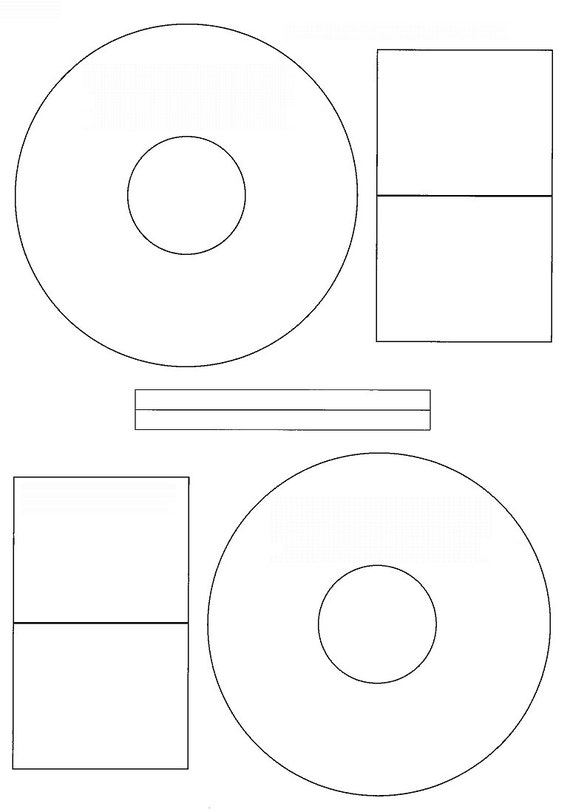 Avery Cd Stomper Cd/Dvd Labels (A4) (50 Sheets/100 Labels) From