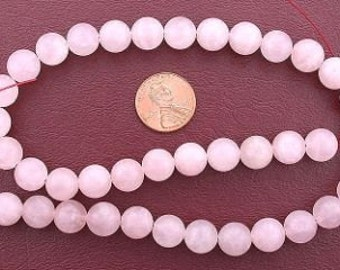 10mm gemstone round rose quartz beads