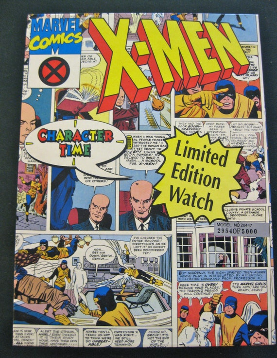 limited edition 30th anniversary character time x men watch limited edition 30th anniversary character time x men watch die cast metal plane