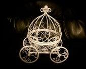 Cinderella Carriage Wedding Card Holder