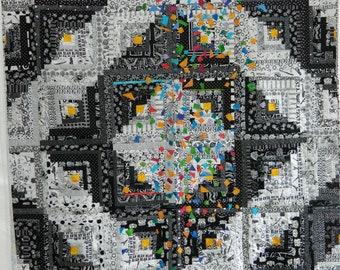Confetti Modern Quilt