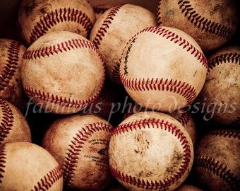 Vintage Baseball Portrait Boys Room Decor -- Office Decor -- Coach Gift