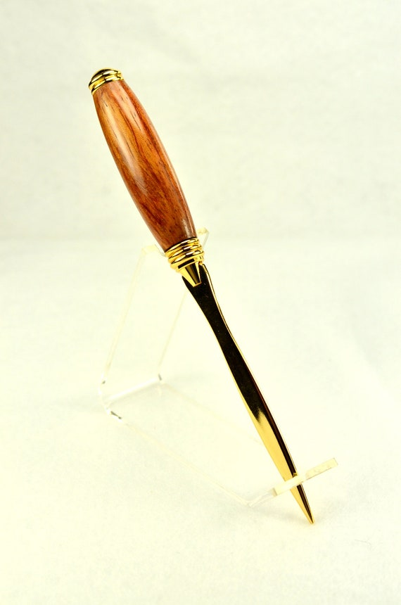 letter opener exotic wood handle handmade guaranteed With wood handled letter opener