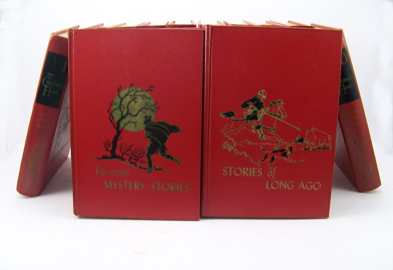 16 Volume Book Set Of The Children S Hour Series
