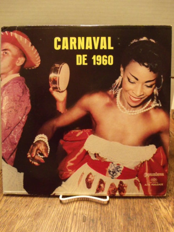 Carnaval De 1960 -Copacabana CLP 11138 - In Original Sleeve from Vitale Shop, Rio de Janeiro, Brazil