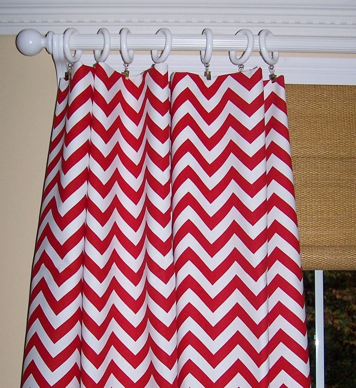 Jc Penny Kitchen Curtains Taupe Chevron Curtains