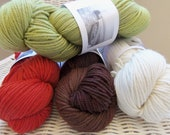 100% Organic Merino Wool Yarn - by Swan's Island Natural color collection