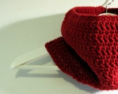 Chunky Cowl - Red