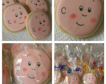 Caillou Cookies ...Greeks-N-Sweets