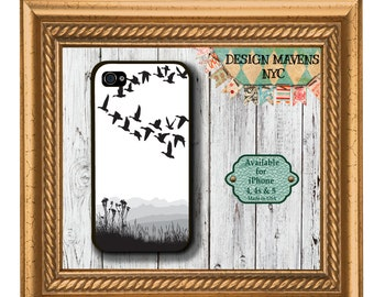 Flock of Geese iPhone Case, Fall iPhone Case, Bird iPhone Case, iPhone 4, 4s, iPhone 5,  5s, 5c, iPhone 6, 6s, 6 Plus, SE, iPhone 7, 7 Plus