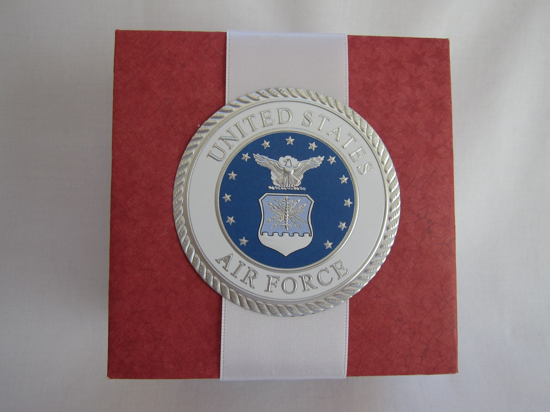 US Air Force gift box handmade paper gift box gift box