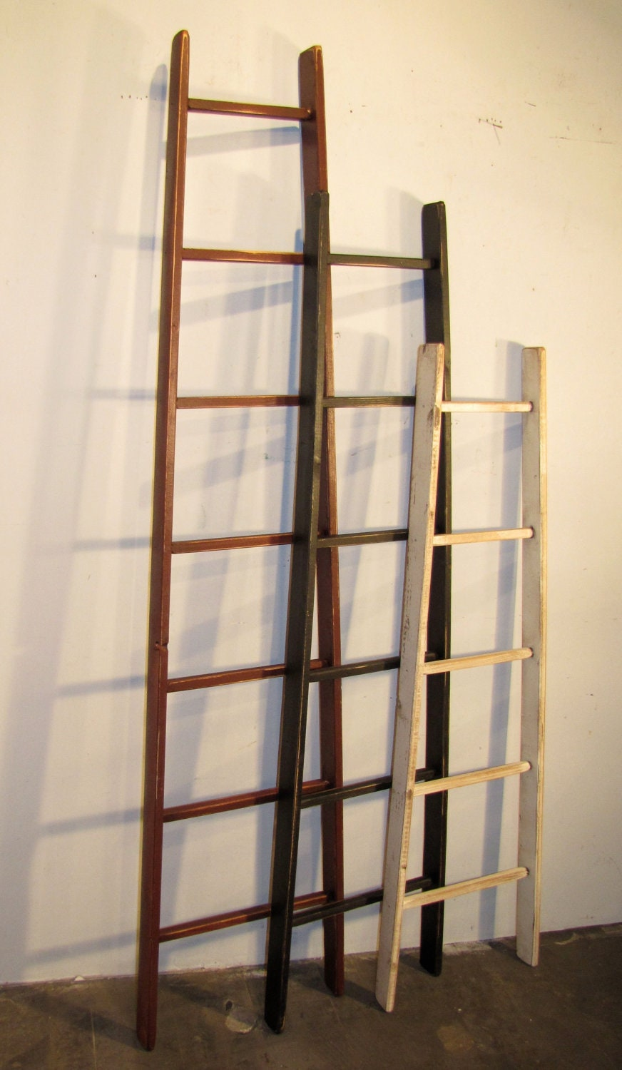 Rustic Orchard Ladder 7 Rung 73 Tall Color Choice