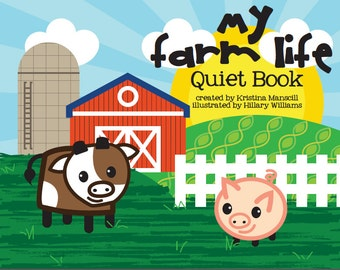 Farm Life Quiet Book Pages