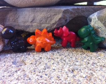 4pk. Dino Crayons