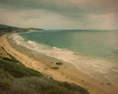 "Vintage Crystal Cove Beach Photograph, Retro California Shore Photo, 8"" x 12"""