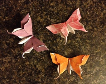 Swallowtail Butterfly - Set of 3