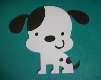 Cricut Create a Critter Dog Puppy Die Cut Paper Piecing Scrapbooking