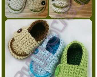 Crochet Little Prince Loafers