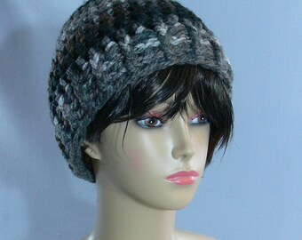 Beanie - Crochet - Warm - Multi Color - Yarn - SS-159