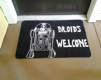 Droids Welcome Mat