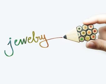 Pencil Jewelry - Pencil ring