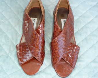 Vintage 80's enzo Angiolini Shoes